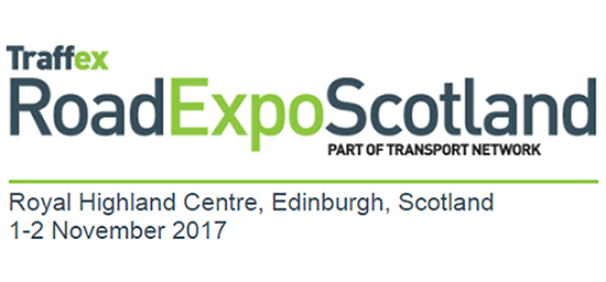 We're at Traffex Road Expo Scotland 2017 1