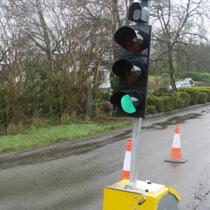 Portable Traffic Signals & Controller 4