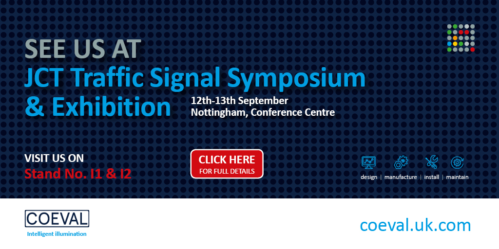 Exhibition Stand Design Nottingham : Coeval are exhibiting sponsoring jct traffic signal