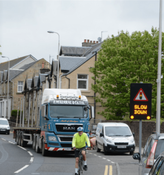 Reducing accidents by changing driver behaviour 1