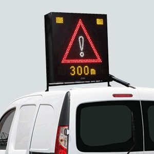 Vehicle Roof Mounted VMS System 5